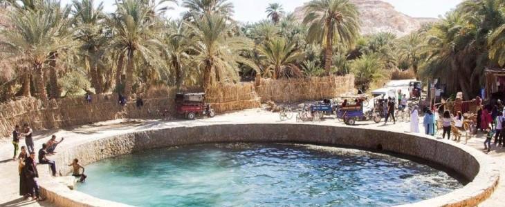 كنوز مصريه …  الآبار والعيون الطبيعية بسيوة :